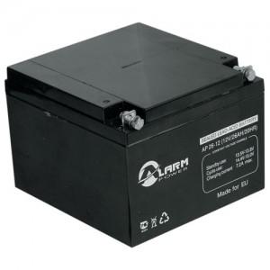 Аккумулятор герметичный свинцово-кислотный 12 В, 26 Ач