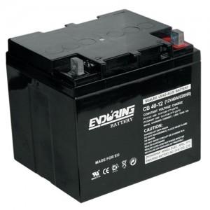 Аккумулятор герметичный свинцово-кислотный 12 В, 40 Ач