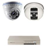 Комплект видеонаблюдения для помещения и улицы