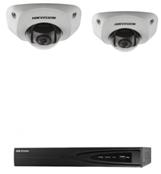 Комплект IP-видеонаблюдения для помещений