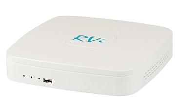 IP видеорегистратор (NVR) RVi-IPN8/1-4P