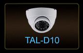 Купольная  AHD-видеокамера  TAL-D10