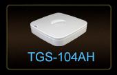 AHD-видеорегистратор TGS-104AH