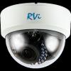 Купольная IP-камера видеонаблюдения RVi-IPC31S (2.8-12 мм)
